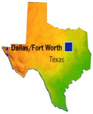 Texas fläche